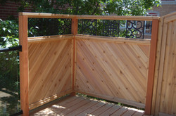 Privacy Screen & Wrought Iron Art