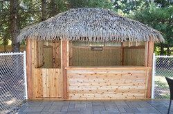 10 Ft. x 13 Ft. Tahiti Log Pool Side