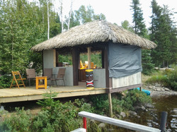 Home Owner Tiki Hut Thunder Bay 3