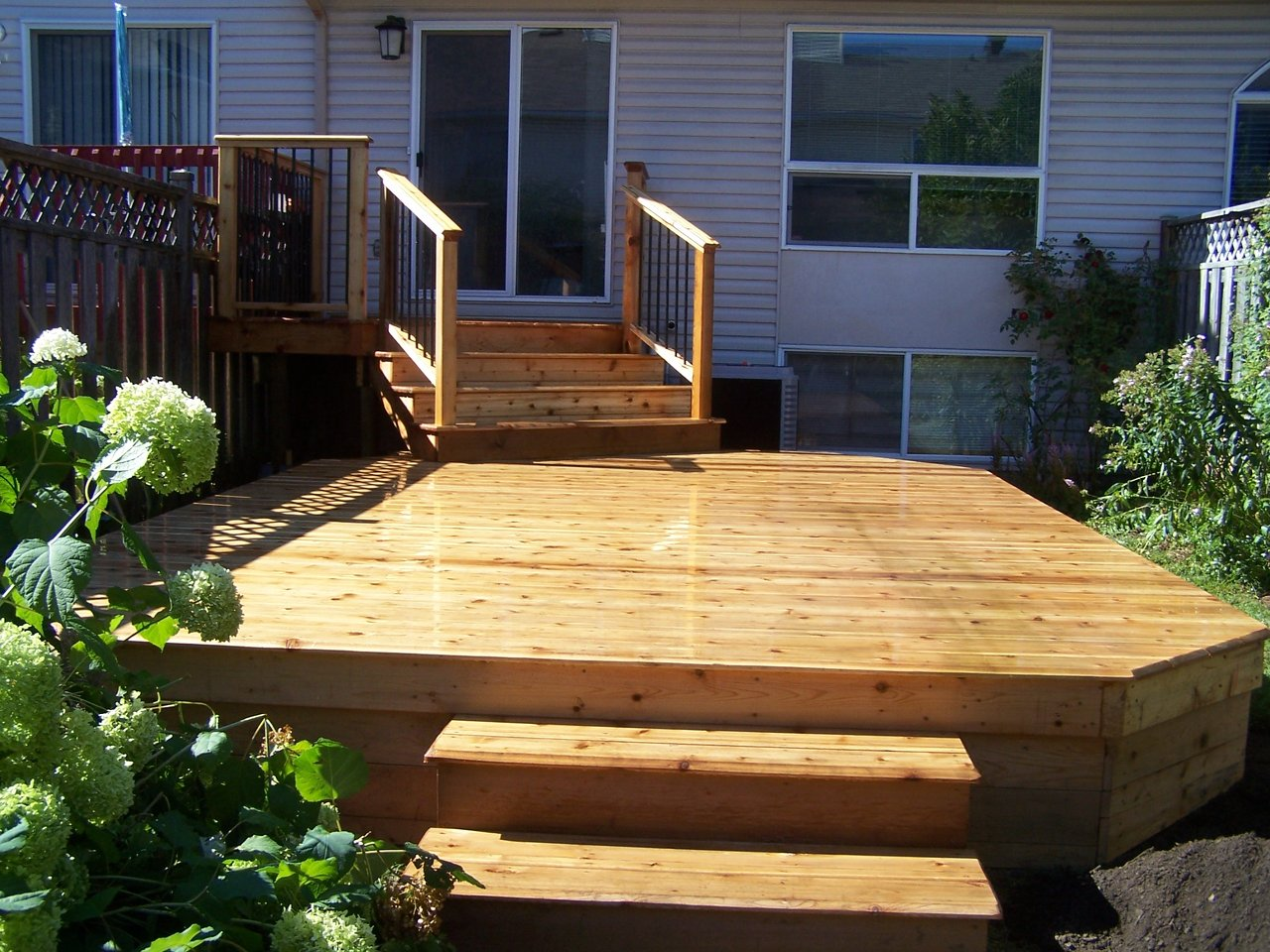 Townhouse Cedar Deck