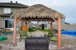 10 Ft. x 10 Ft. Tahiti Log Pool Side 3