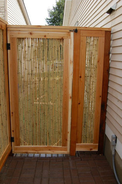 Bamboo Gate and Fence