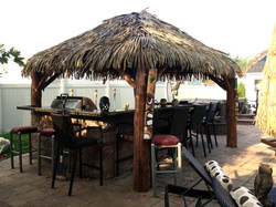10 Ft. x 10 Ft. Tahiti Log Pool Side Bar 2