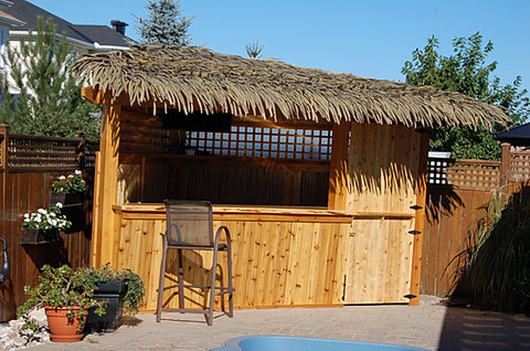 Tiki Bars And Structures
