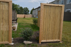 Privacy Bamboo Panels