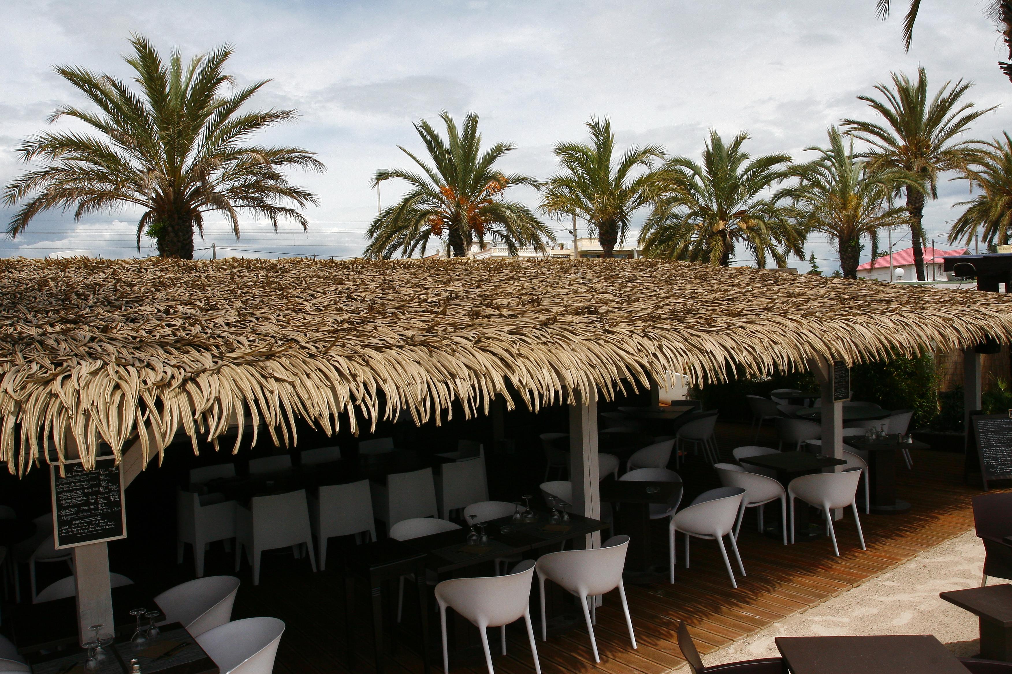 Restaurant Tiki Canopy