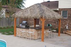 Tahiti Tiki Hut Kits 10 x 10