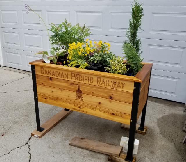 Memorial Planter Box
