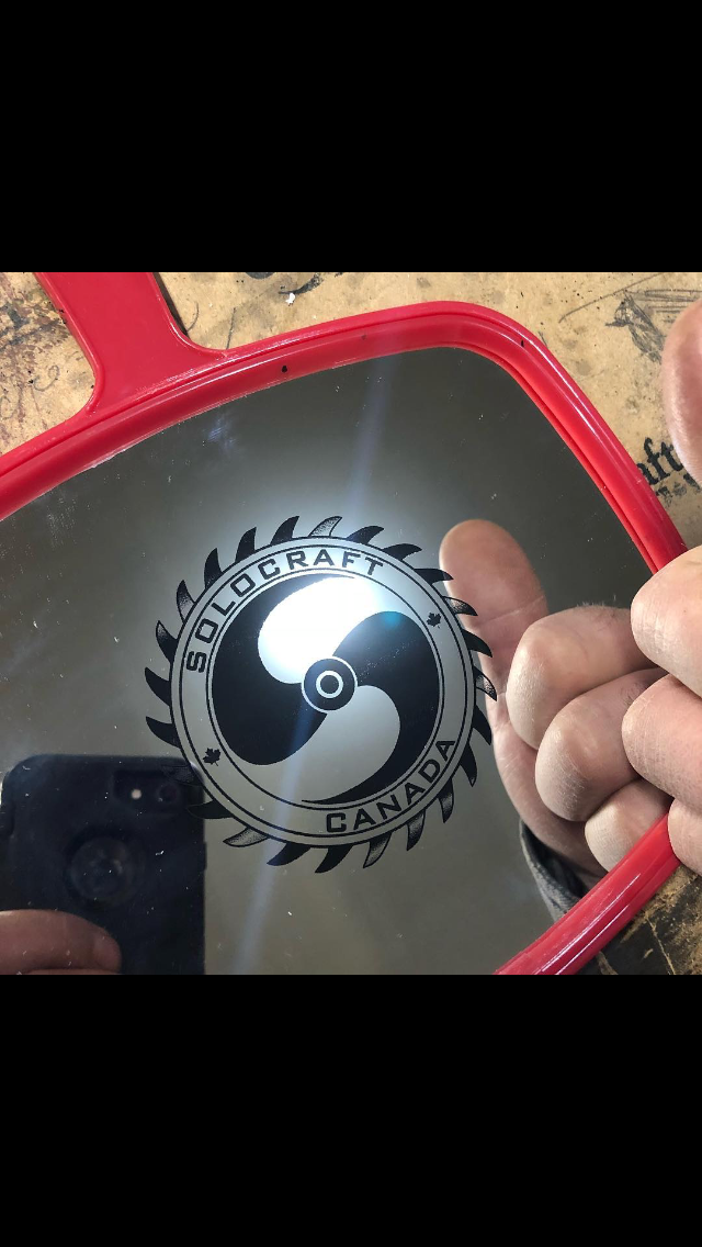 Laser Engraved Mirror