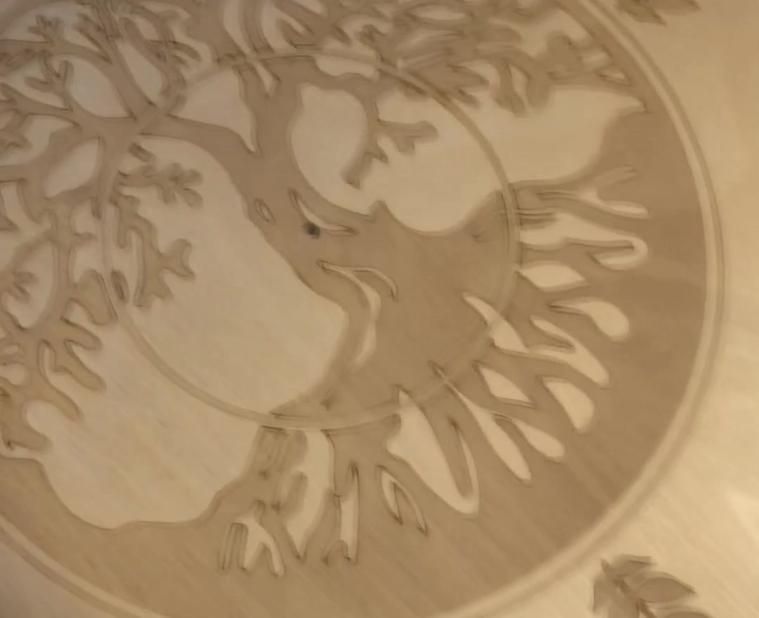 Tree of LIfe Engraving