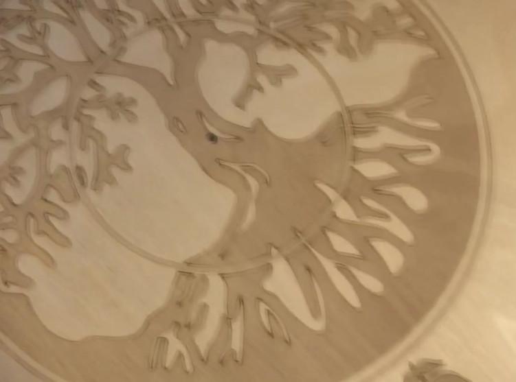 Tree of LIfe Engraving