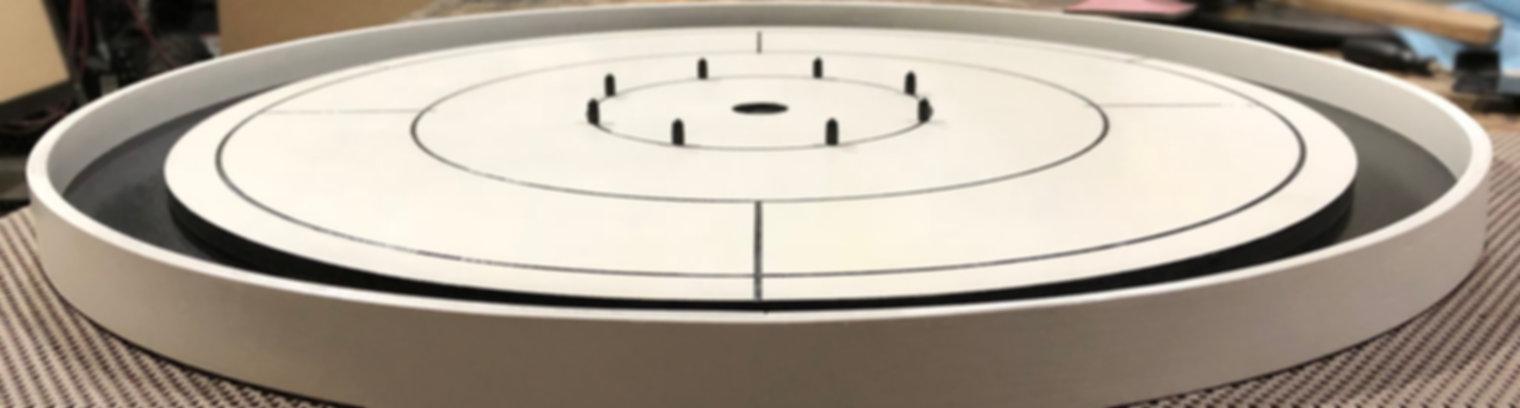 Handcrafted Crokinole Boards, Laser Engraving