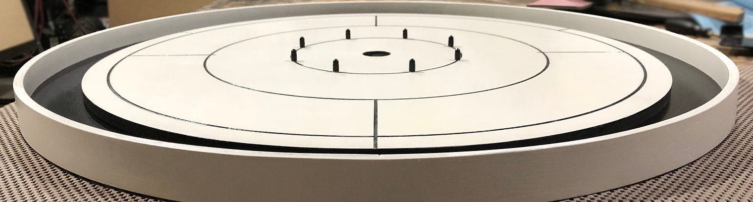 Handcrafted Crokinole Boards, Laser Engraving