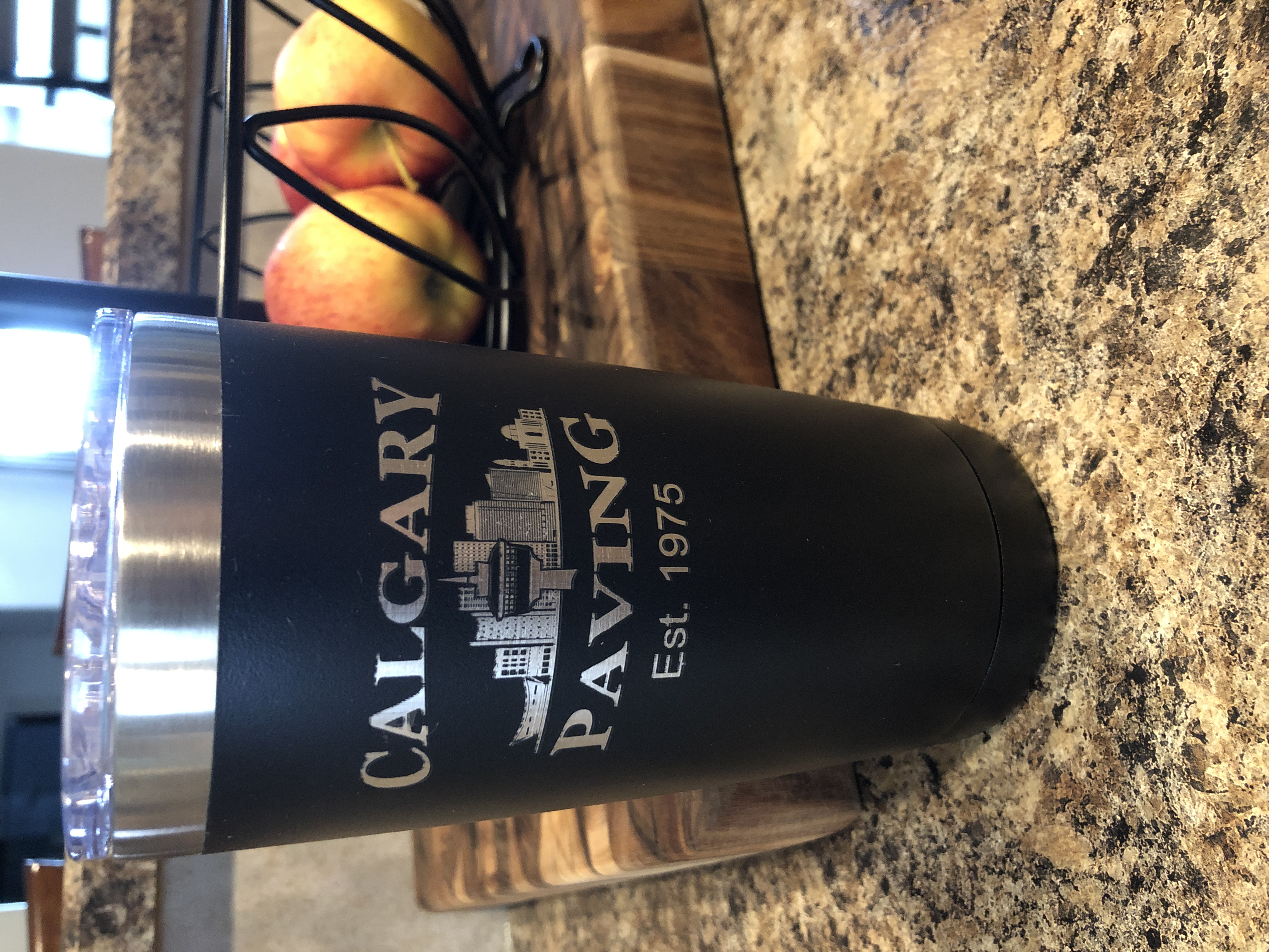 Custom Engraved 20oz tumbler