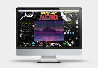 Threat Intel Hero Computer Game