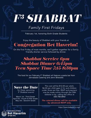 F3 Shabbat