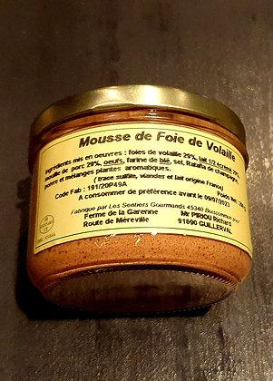 Mousse de foie de volaille