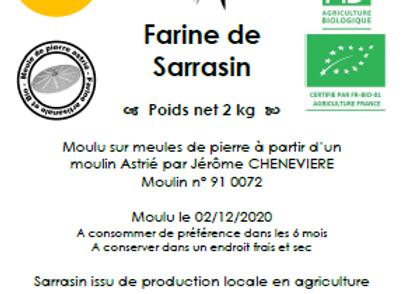 Farine de sarrasin AB 2 kg