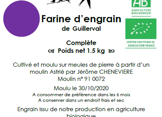 Farine d'Engrain Bio