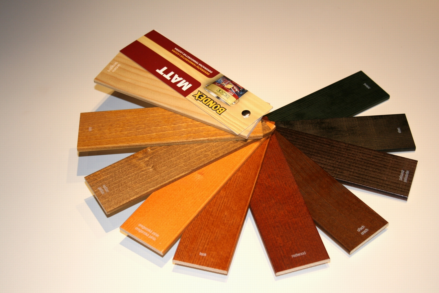Swatches for paint manufacturers - POS item