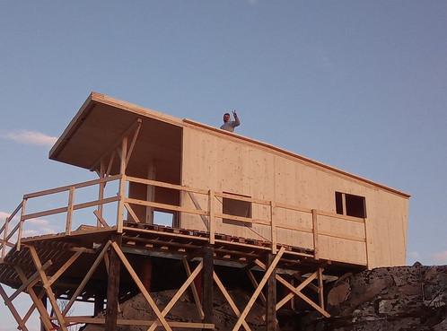 zahájení stavby z CLT dřevěných panelů