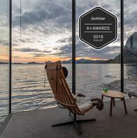 cena koncepce a designu získaná za přispění  norského architekta Snorre Stinensena
