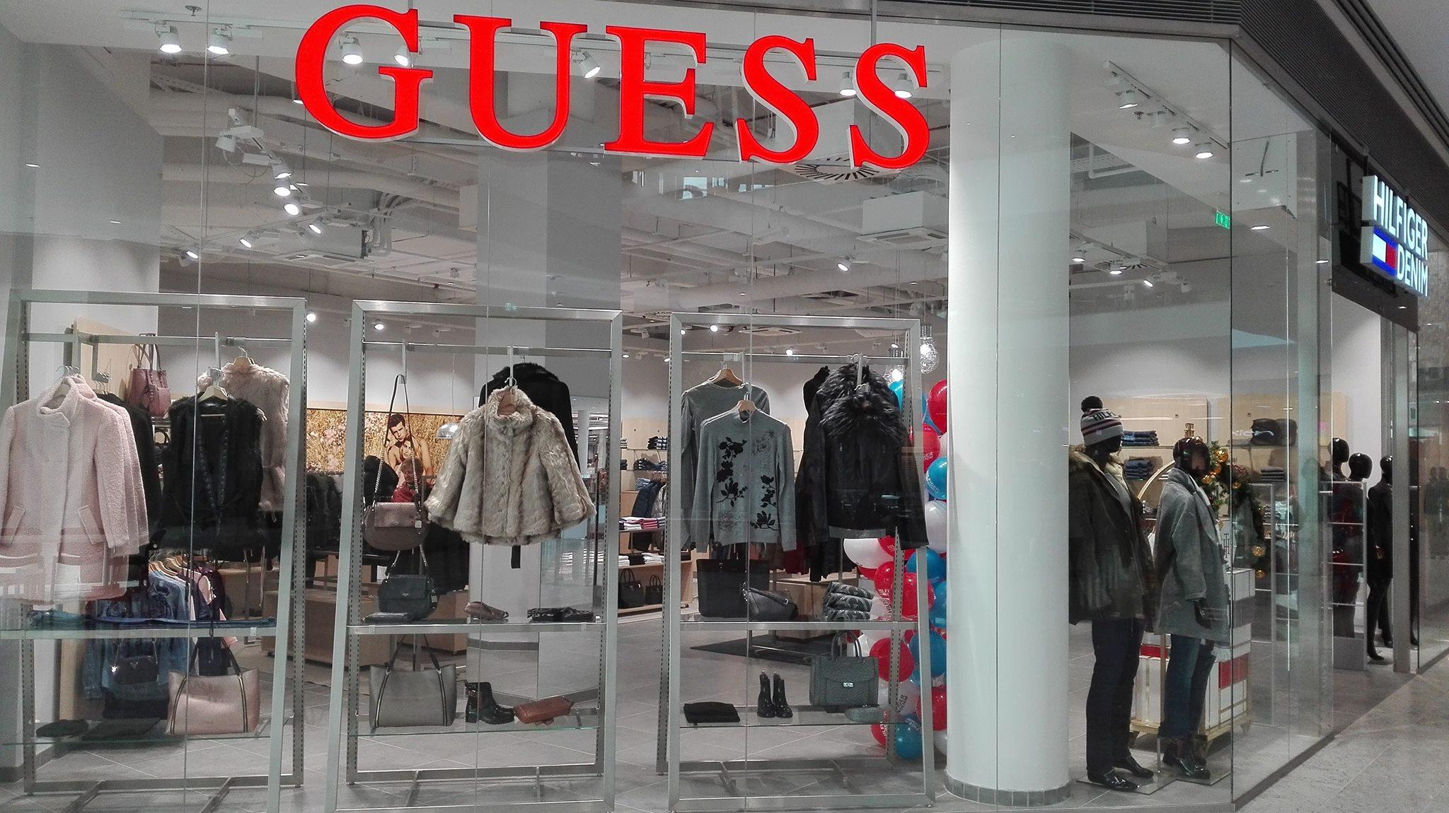 Guess prodejna