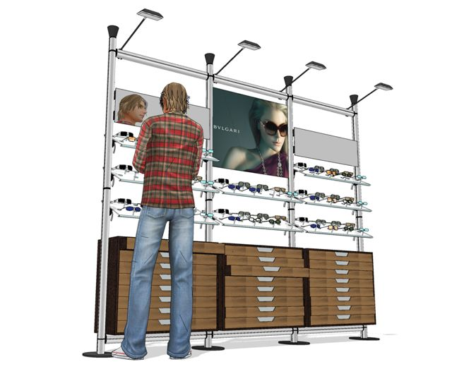 CREO system for glasses