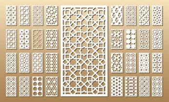 dekorative mønstre for laser