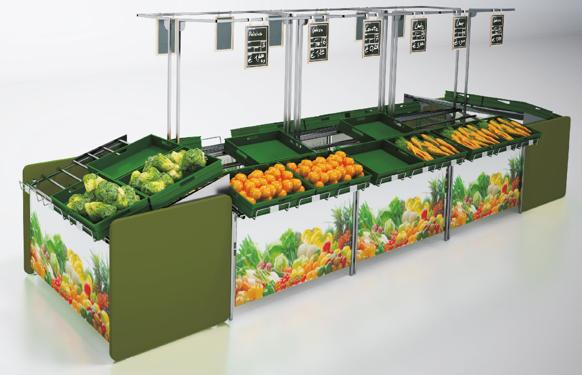 SCS 1 vegetable stand