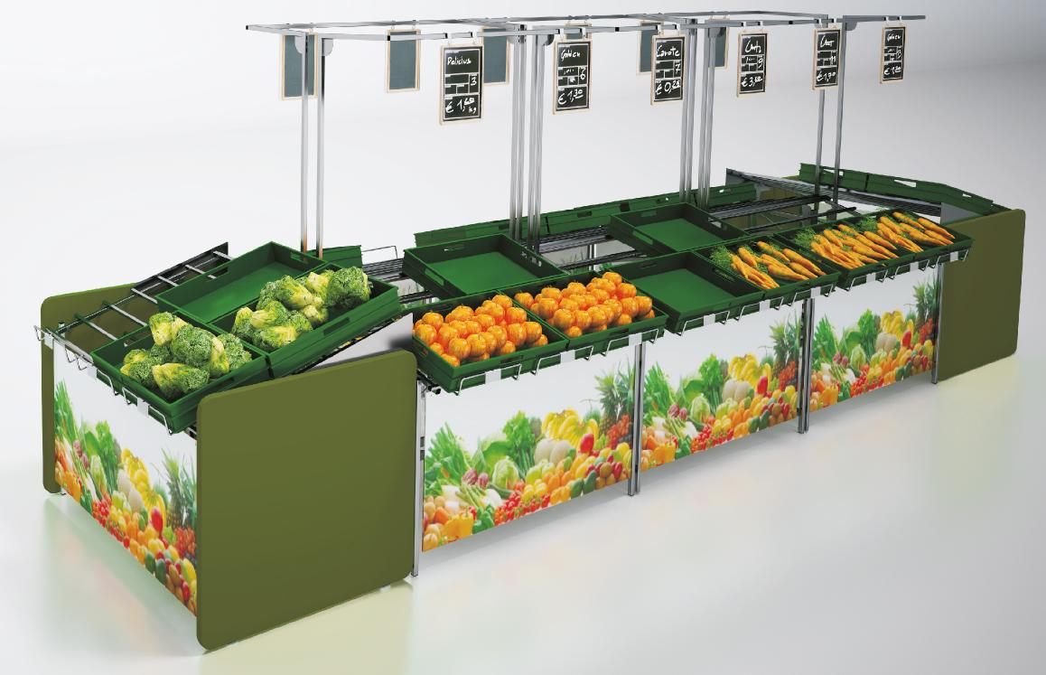 Stojany na zeleninu SCS 1