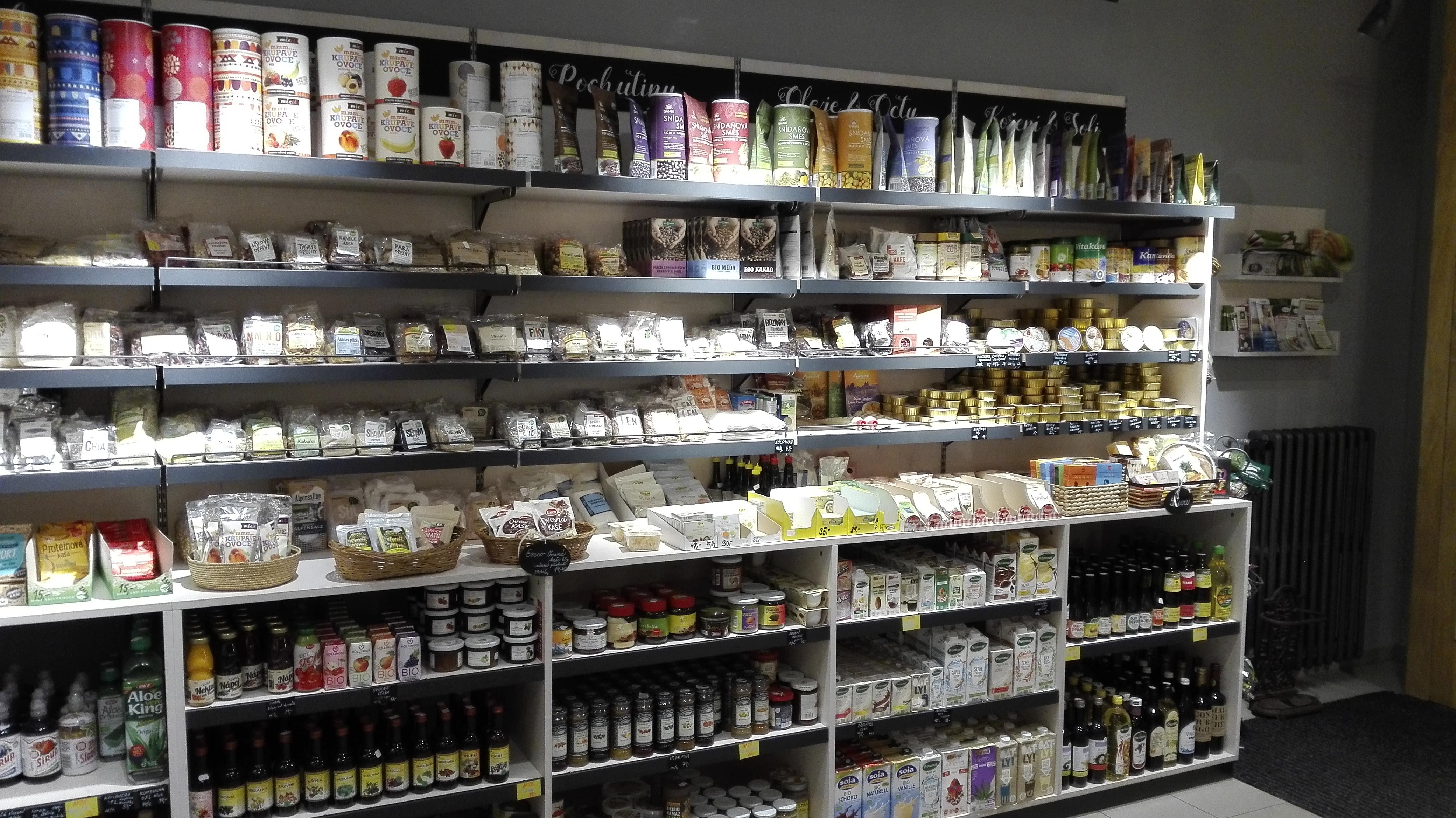 Herbio shop in Pilsen