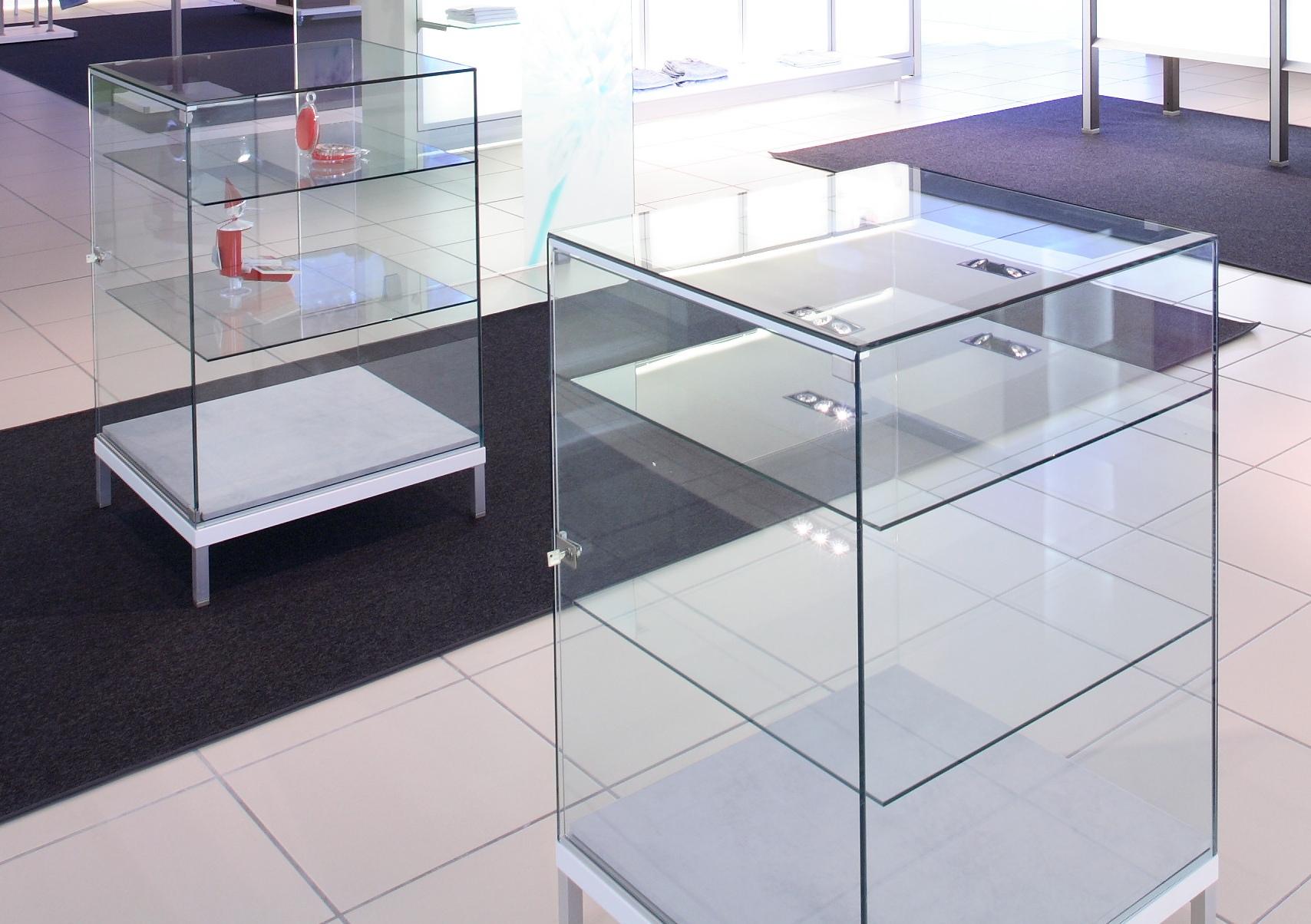 ITL-glassvisningskasse
