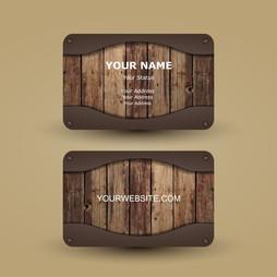 ukázka luxusní tvorby vizitky z dřeva a plexi