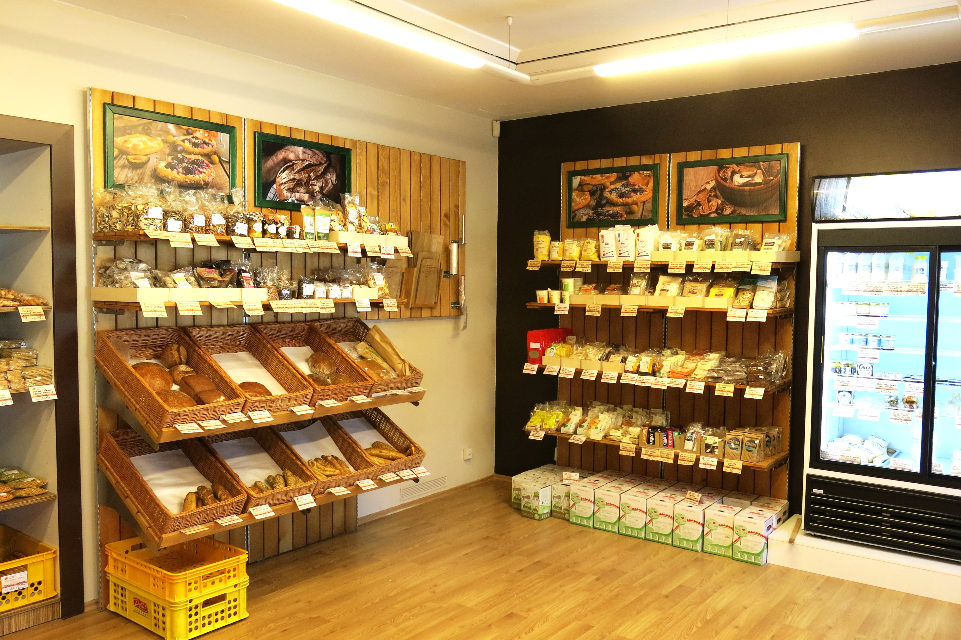 Farm shop in Pilsen