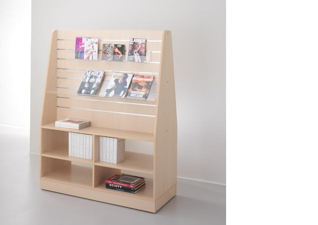 12-book stand