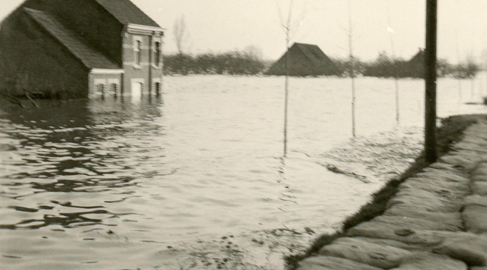 Overstromingen Kallo 1953.jpg