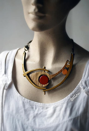 Collier''double face''