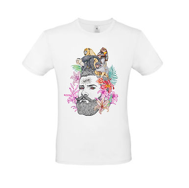 Camiseta MONOS EN LA CABEZA