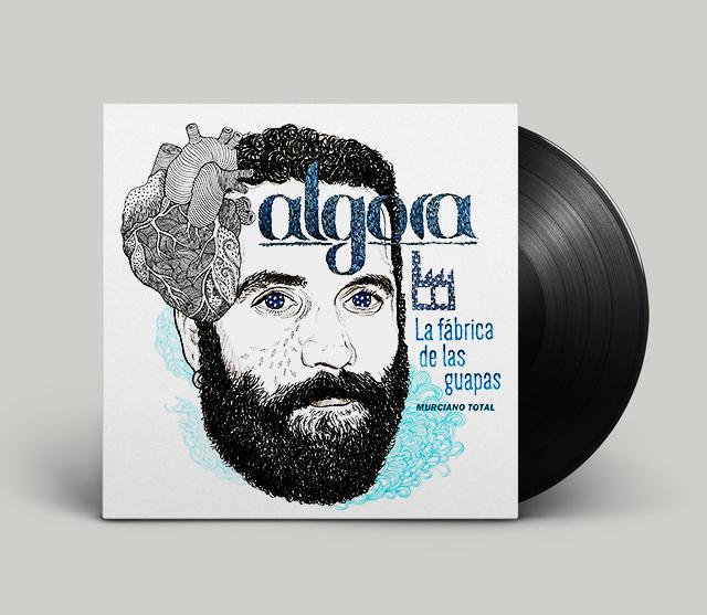 Lp cover single Algora