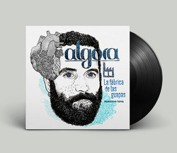 Lp cover single Algora