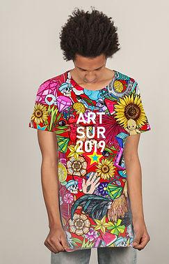 El dios de los tres diseño camiseta ilus