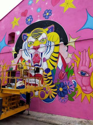Mural Arte Alberic Valencia