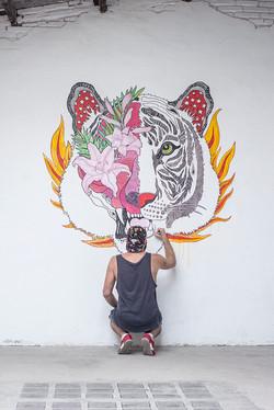 Mural para El Altillo Studio
