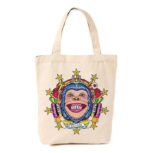 Bolsa totebag El dios de los tres Human Monkey