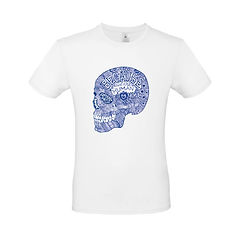 camiseta-ilustracion-craneo-blanca-hombr
