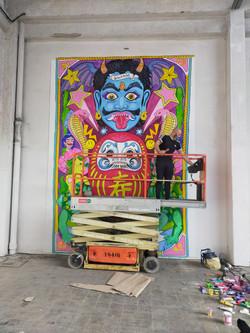 mural-poble-nou-urban-district-el-dios-d