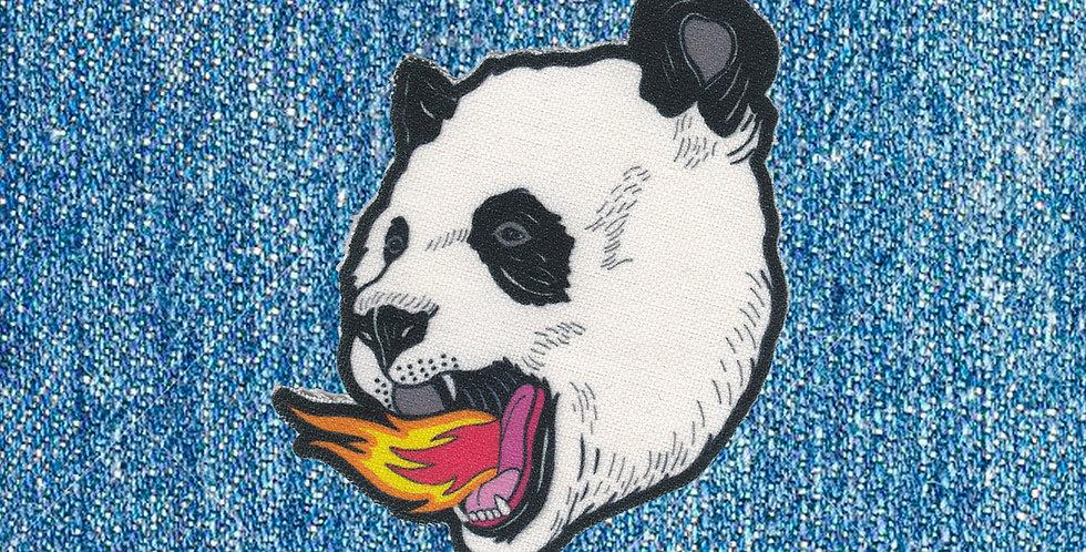 Parche PANDA ON FIRE