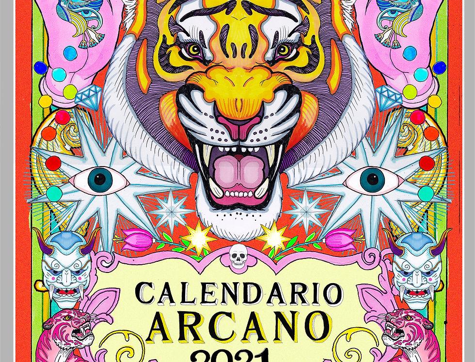 Calendario Arcano 2021