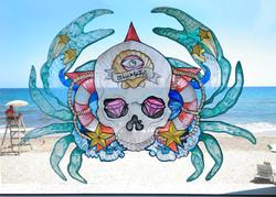 mural-vidrio-little-beach-house-el-dios-de-los-tres